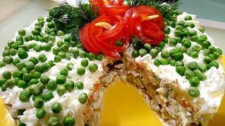 Самый Праздничный Салат - ОЛИВЬЕ на Новый Лад:)