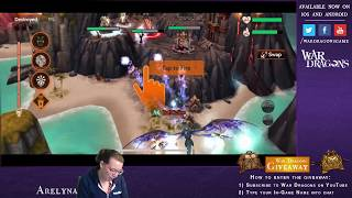 War Dragons YouTube Gaming Stream | Vanguard Mythic Preview Recap + Duskfall Runs