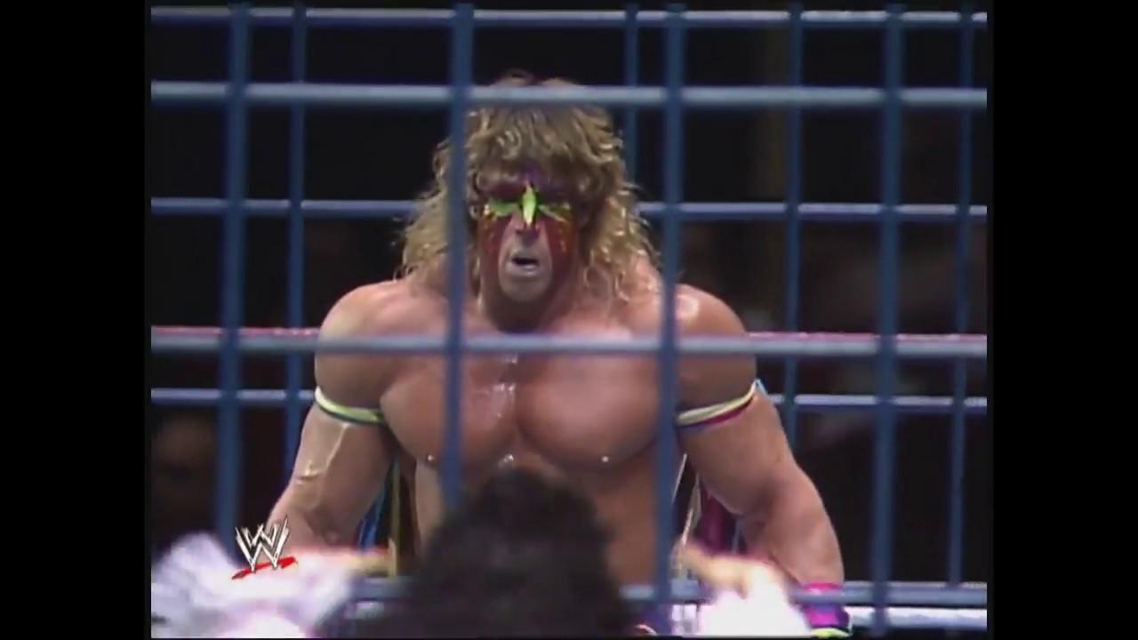 Download Ultimate Warrior Vs Macho King Randy Savage Cage Match, Pre Wrestlemania VII