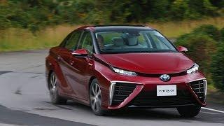トヨタの燃料電池自動車「MIRAI(ミライ)」が発表された。