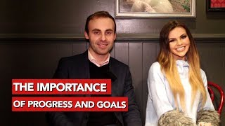 Set goals to get the girl! Dating advice video