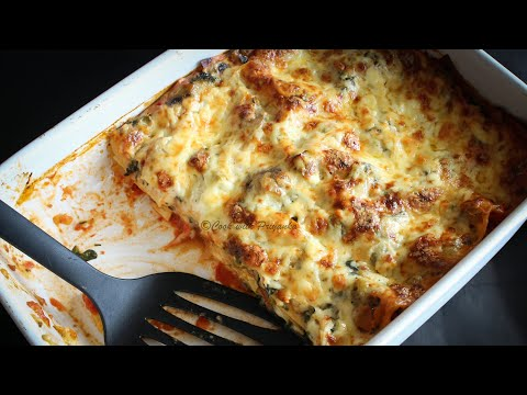 How to make Vegetable Lasagna/lasagne recipe from scratch