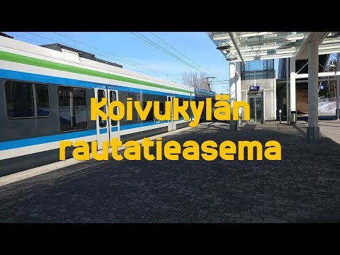 Hissivideo: Koivukylän rautatieasema,