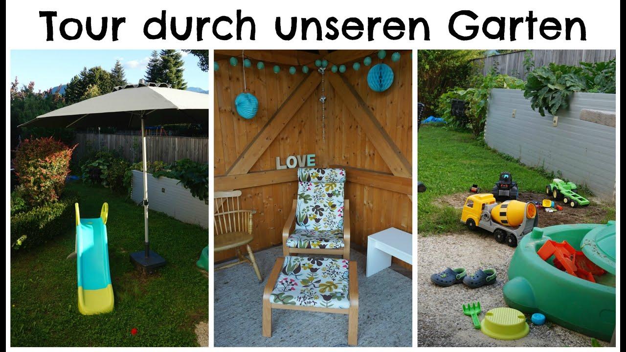 Unser Garten Spielzeug Sonnenschutz I P Youtube