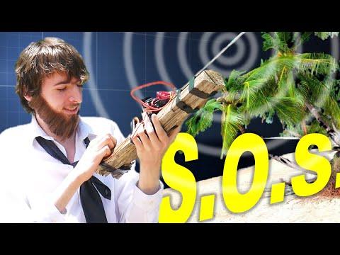 Stranded? How to Make a Primitive Radio Transmitter | SPARK GAP RADIO (ft. Plasma Channel)