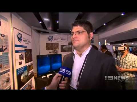 CONNECT 2015 - Australia's most awe-inspiring tech EXPO - Channel 9 coverage