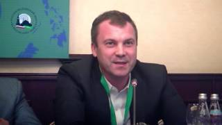 Выступление Евгения Попова на форуме «Журналисты исламских стран против экстремизма»