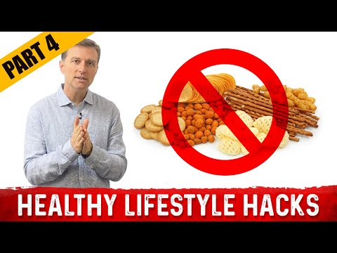 Healthy Lifestyle Hacks by Dr. Berg: PART 4