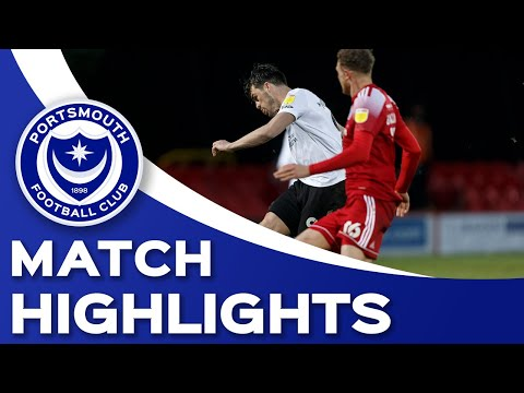 Accrington Portsmouth Goals And Highlights