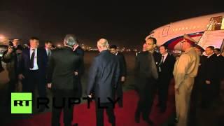 India: Putin arrives in India for Modi talks