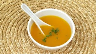Carrot Soup | Mallika Badrinath Recipes | Low Calorie Indian Recipe