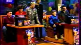 "Телепередача ""Соник - супер ёжик"" 1994 год ( Russian TV show ""Sonic - Super Hedgehog "" 1994 )"