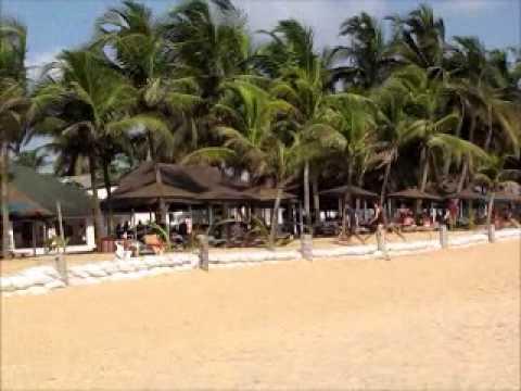 Beach Grand Bassam Ivory Coast