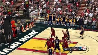 NBA Live 10 - Pacers vs Heat (CPU vs CPU) 2013-14 rosters