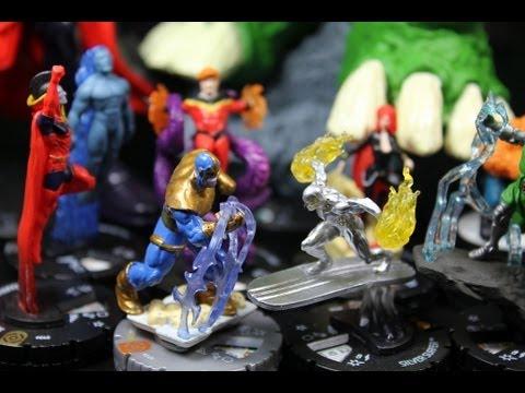 Marvel Heroclix Galactic Guardians Case Unboxing