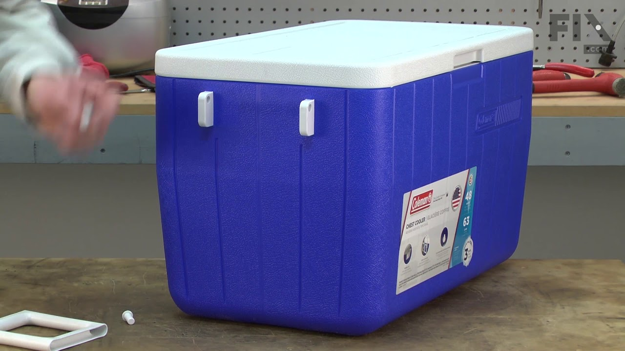 Coleman Cooler Repair - How to Replace the Handle