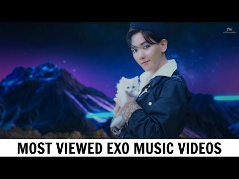 [TOP 30] Most Viewed EXO Music Videos | October 2017