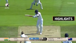 India vs New Zealand | WTC Final Day : 6 Highlights | Full Match Highlights
