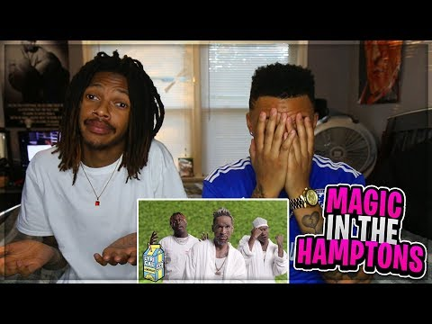 Social House - Magic In The Hamptons ft. Lil Yachty (Dir. by @_ColeBennett_) Reaction Video