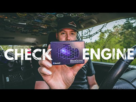 Why Is The Check Engine Light On? - Blue Driver OBD2 & App (First Look)