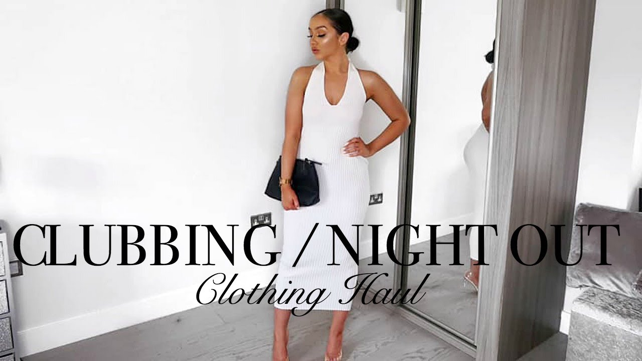 CLUBBING / NIGHT OUT TRY-ON HAUL // EVENING OUTFIT IDEAS 3