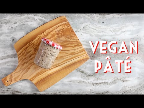 VEGAN PÂTÉ | Easy Mushroom & Walnut Spread Recipe