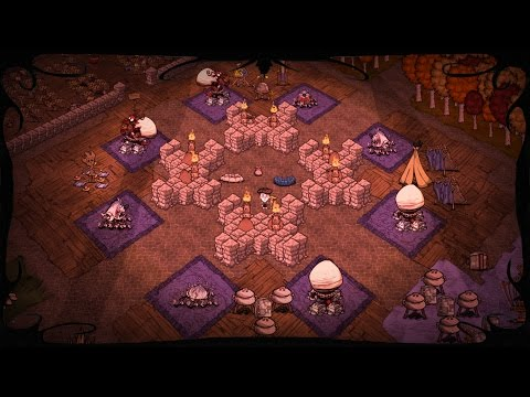 Don't Starve Double Mega Base Tour - Reign of Giants at 1250 days & Don't Starve Together at 1850