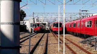 名鉄5701F 新川検車18番線ピットへ