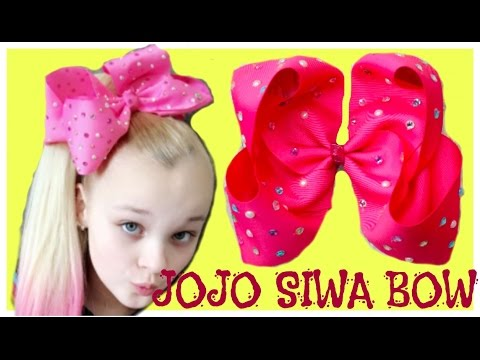 HOW TO JOJO SIWA BOW | Como Hacer Un Moño Inspirado en JOJO SIWA, Moño Boutique Jumbo 3 pulgadas