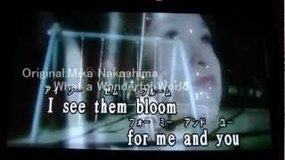 "En:I covered Mika Nakashima ""What a Wonderful World"" by Harmonica i..."