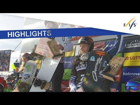 Highlights | Samkova comes from behind to win second SBX in Feldberg | FIS Snowboard