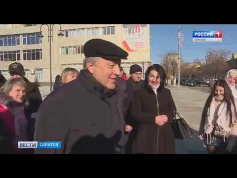 Валерий Радаев осмотрел заключительные работы на проспекте Кирова
