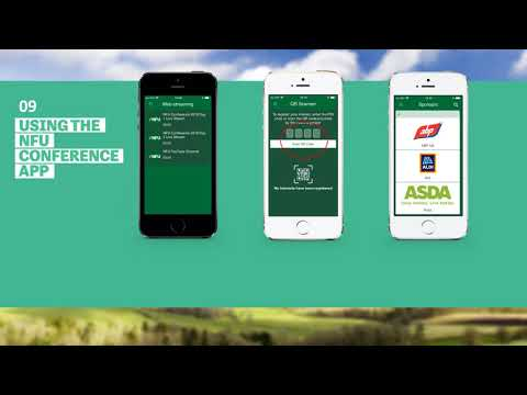 #NFU18: How to use the NFU Conference App