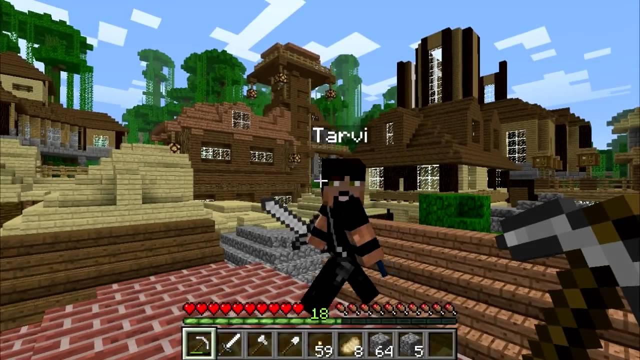 Minecraft Gameplay: Multiplayer