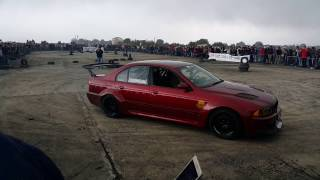 BMW E39 Drift Training at Baadaran Airport Lebanon