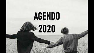 Mi kreis Agendon por la jaron 2020!