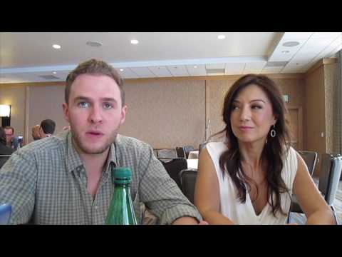 Iain de Caestecker & MingNa Wen for Marvel's Agents of SHIELD at SDCC 2016