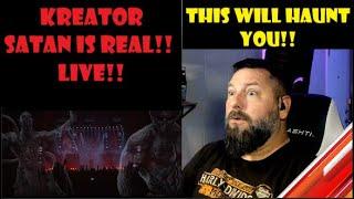 KREATOR - Satan Is Real (OFFICIAL LIVE VIDEO) - OldSkuleNerd Reacts