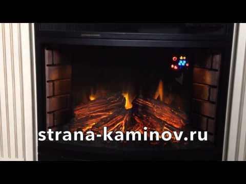 Видео обзор  Электрический камин Royal Flame Panoramic 25 LED FX