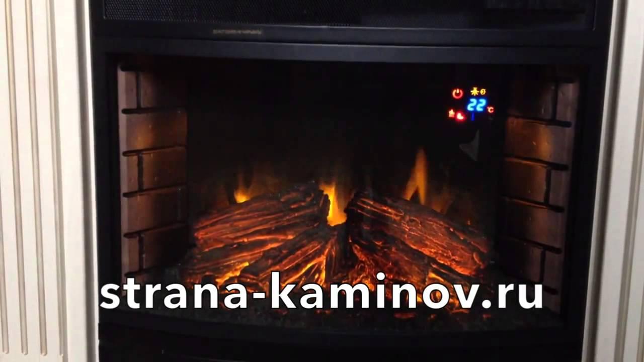 Электрические камины, Кишинев, Молдова - YouTube