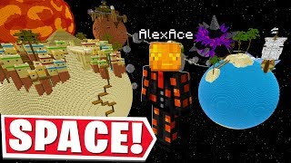 ALL OF MINECRAFT BUT IN SPACE..