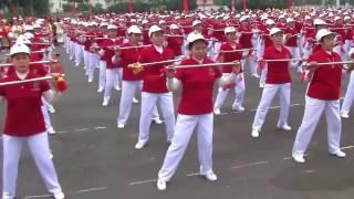 GIAO LƯU TDDS - 8 động tác gậy ngắn H. Yên Phong - TP. Bắc Ninh