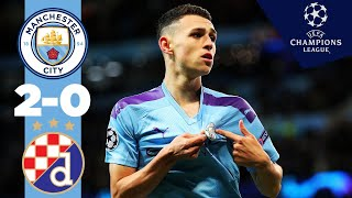 HIGHLIGHTS | MAN CITY 2-0 DINAMO ZAGREB | RAHEEM STERLING, PHIL FODEN