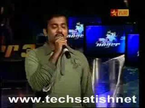 Airtel Super Singer 3 - 3rd Level Auditions - Krishna Sridharan_Unakenna Mele