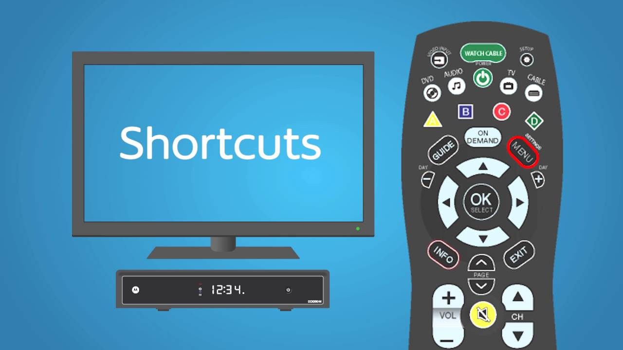 Using your remote | Support & How To - Classic Guide | Shaw
