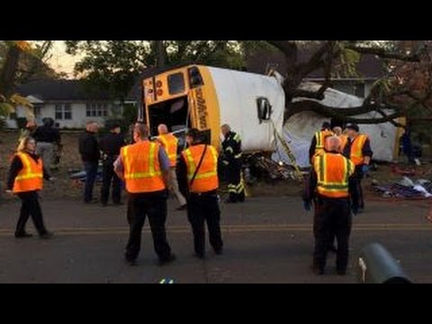 Tennessee school bus driver charged in deadly crash