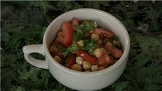 Bean Salads : Mediterranean Garbanzo Bean Salad