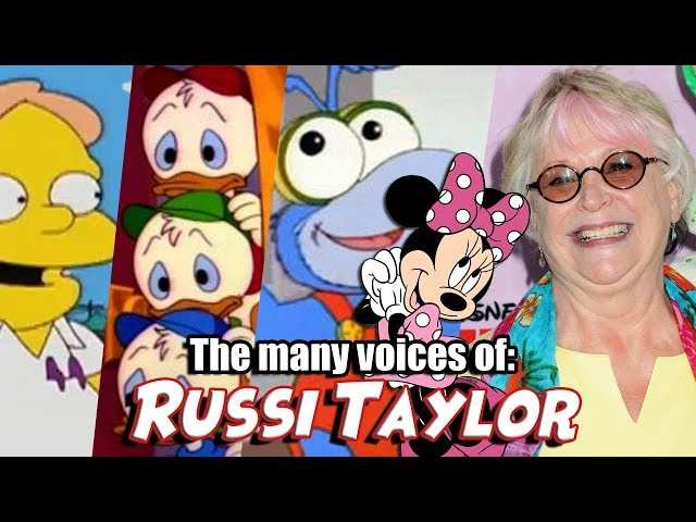 Many Voices of Russi Taylor (Minnie Mouse / DuckTales / Muppet Babies)