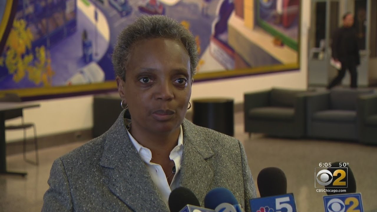 Mayor-Elect Lori Lightfoot Addresses Chicago Crime Plan