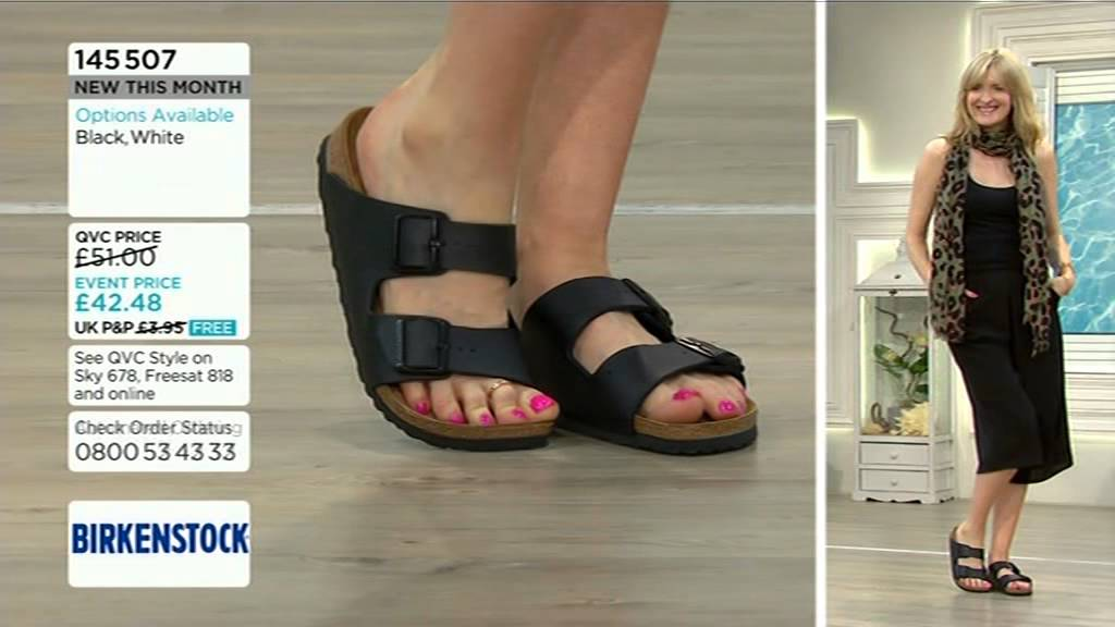 bc0cde05f02 Foot model Sally from QVC